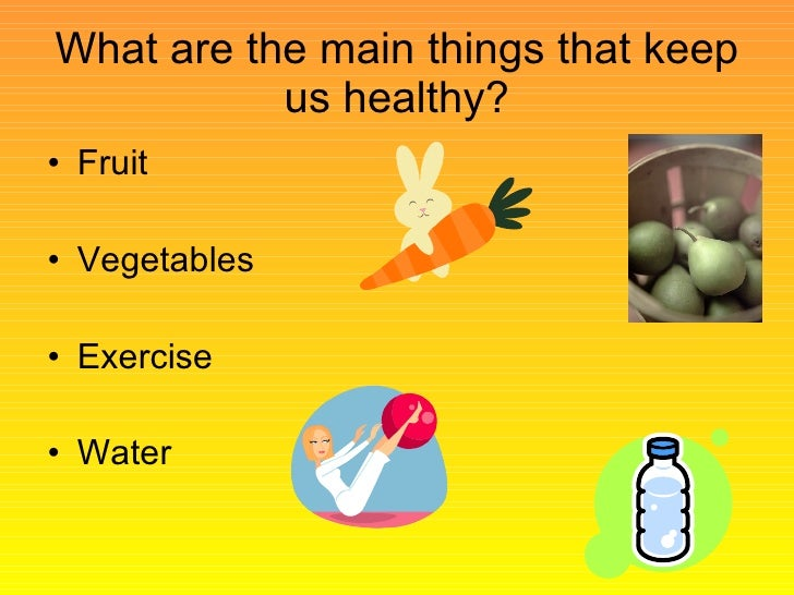 Healthy Diet and Exercise