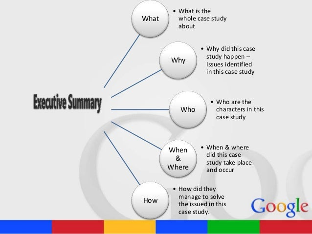 "summary of keeping google googley I case summary/introduction this case study is about is about an internet company named google  exam case ""keeping google ""googley"" assignment questions:."
