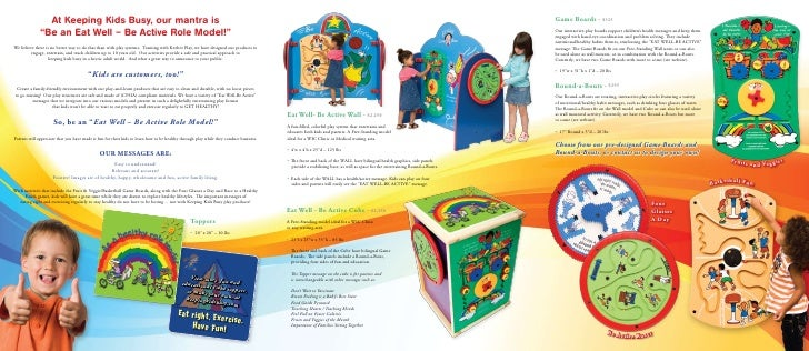 Keeping Kids Busy Brochure