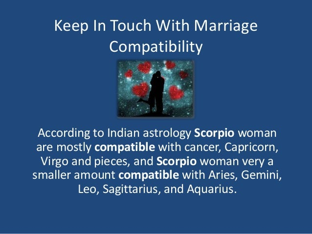 Marriage Compatibility Astrology