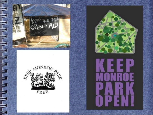 Keep Monroe Park Open and Free The Monroe Park Conservancy ● Unnecessary ● Unfunded ● Unwanted ● Unrepresentative