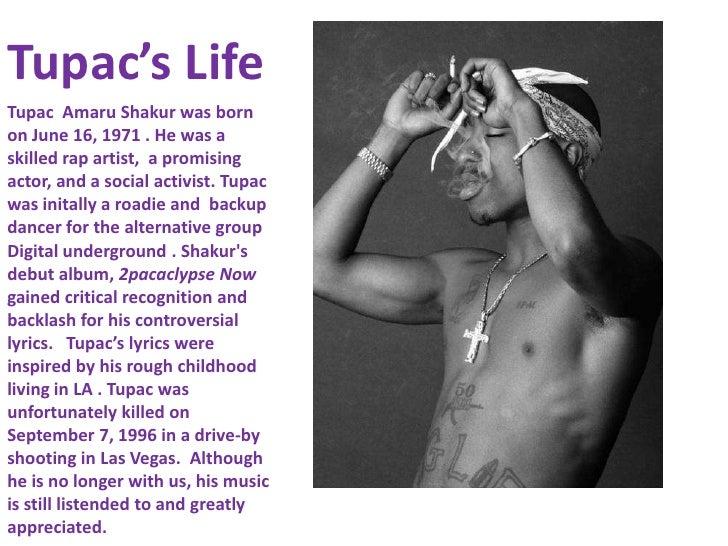 Tupac s essays keep ya head up