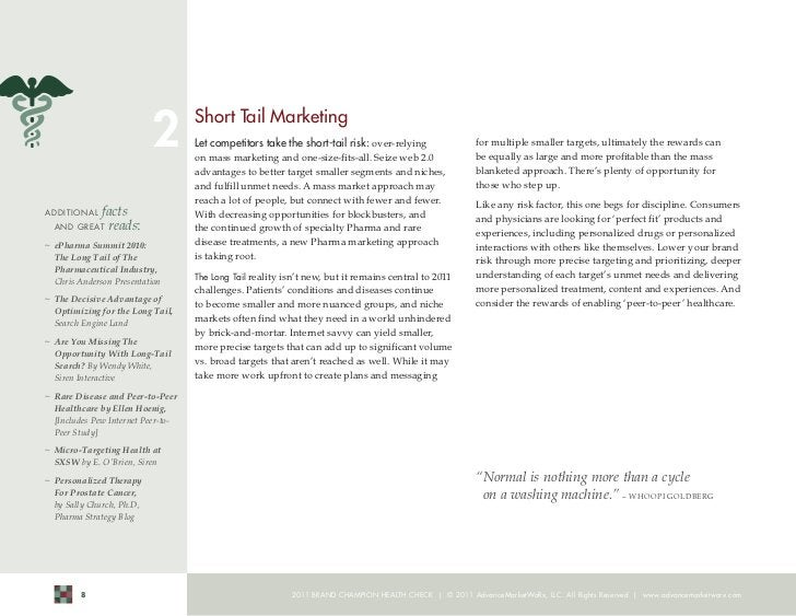 2      Short Tail Marketing                                     Let competitors take the short-tail risk: over-relying    ...