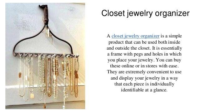 Charmant Closet Jewelry Organizer ...