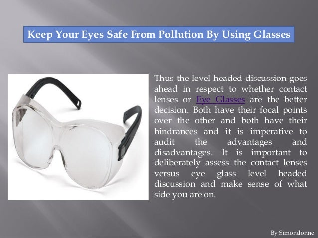 Keep an Eye on the Importance of Using Goggles