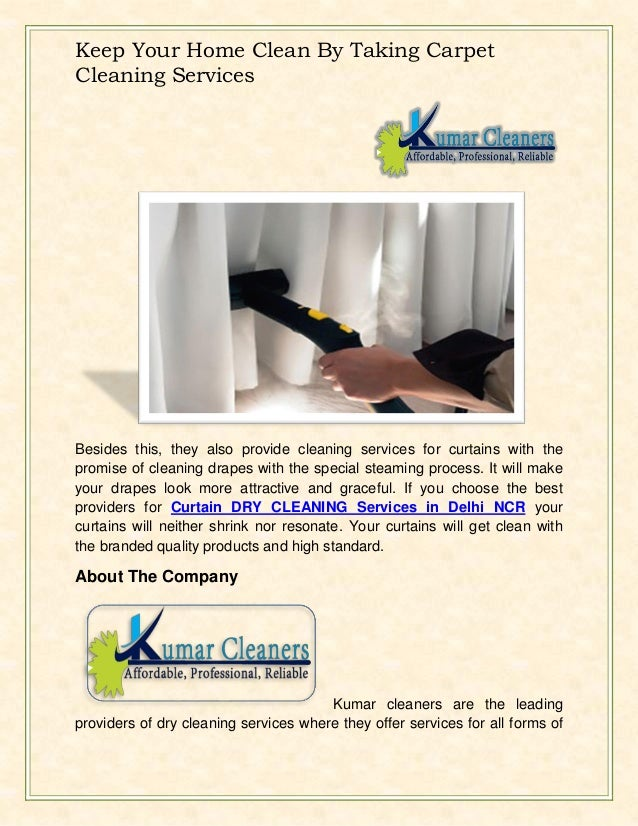 2. Keep Your Home Clean By Taking Carpet Cleaning Services ...