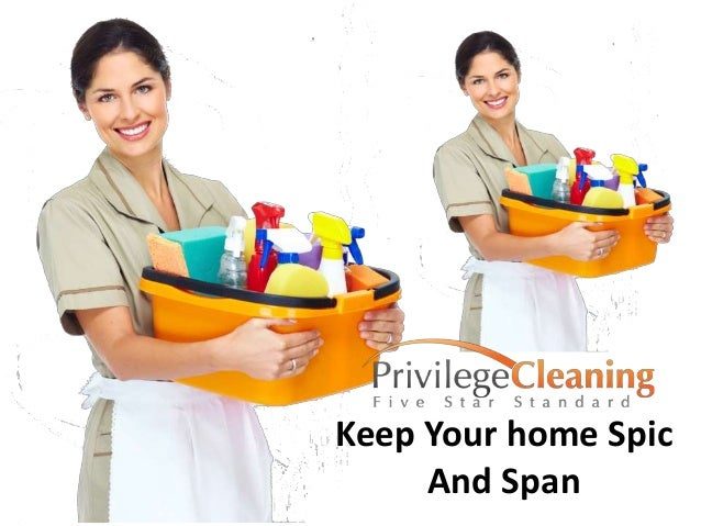 Keep Your home Spic And Span