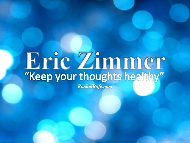 Eric Zimmer has a podcast called, The One You Feed. And in today's episode we cover a bit of ground. First we talk about j...