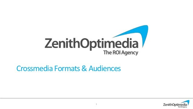Crossmedia Formats & Audiences                      1