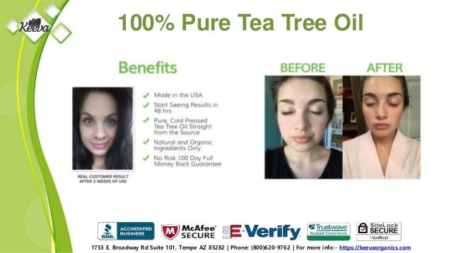100% Pure Tea Tree ...
