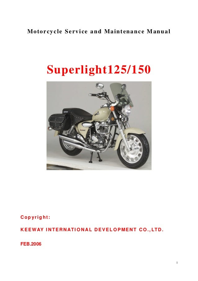 keeway superlight 125 service manual rh slideshare net