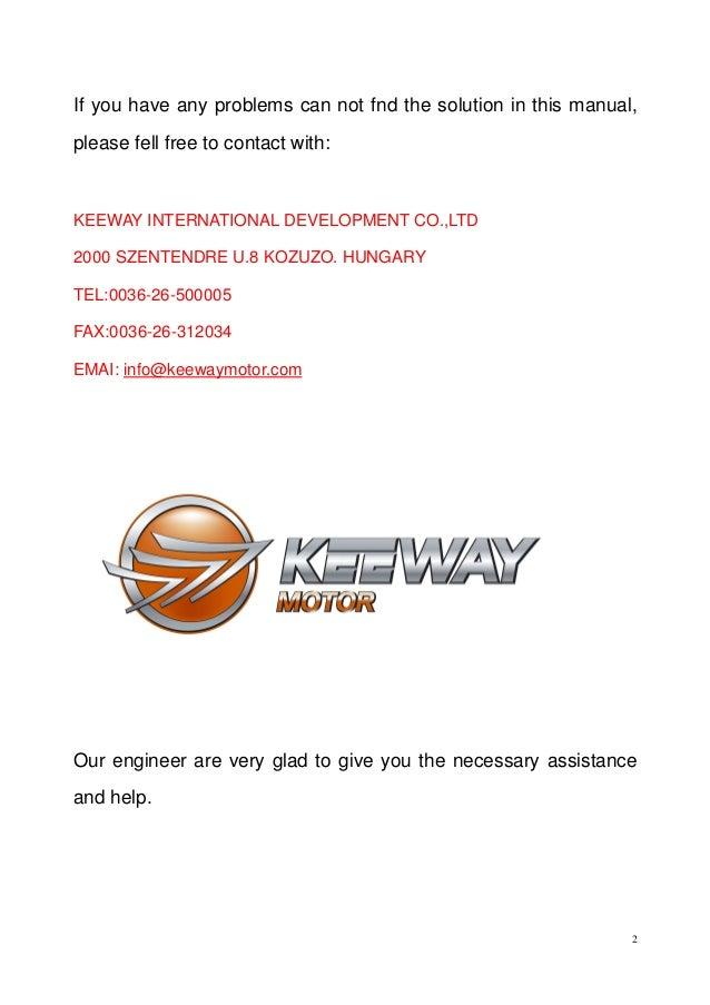 keeway superlight 125 service manual rh slideshare net keeway f-act 50 repair manual keeway f-act 50 repair manual