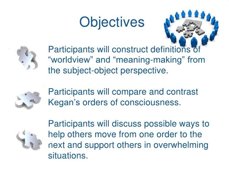Kegan Constructive Developmental Theory