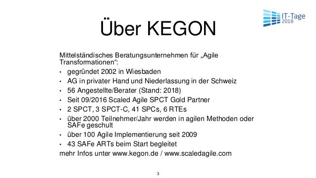 Kegon IT Tage 2018-Und was, wenn agile Teams einfach nicht funktionieren? Slide 3