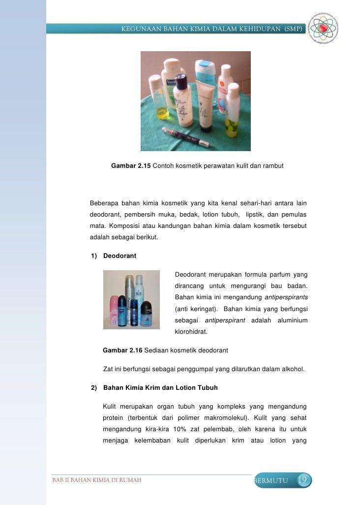 Kegunaan bahan kimia SMP