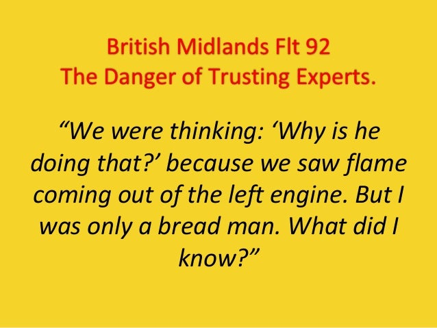 What Do You Do When The Pilots Shut Down The Wrong Engine? Slide 3