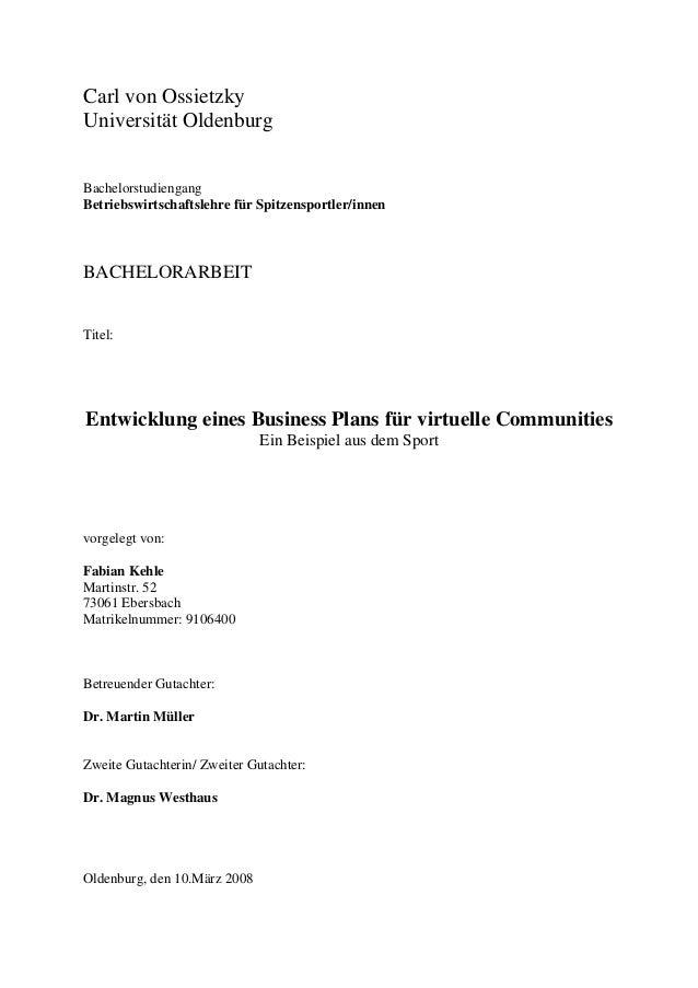 Carl von Ossietzky Universität Oldenburg Bachelorstudiengang Betriebswirtschaftslehre für Spitzensportler/innen BACHELORAR...