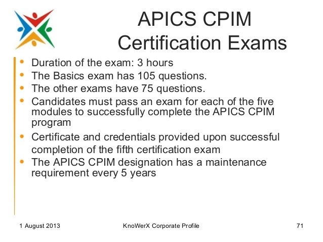Frequently Asked Questions about the APICS CSCP Exam