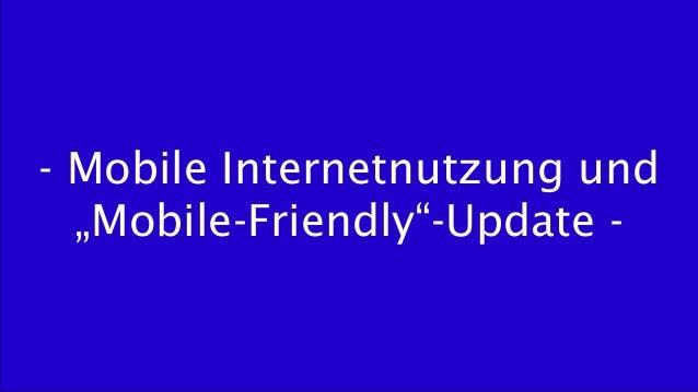 Mobile SEO - Basics und wichtige Faktoren für die mobile Suche Slide 3