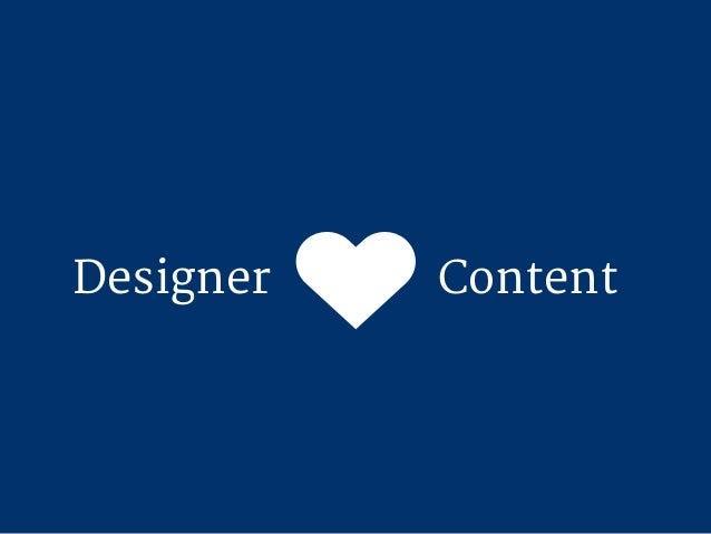 Drei Ausreden Warum wir uns als Designer nicht mit Content beschäftigen wollen
