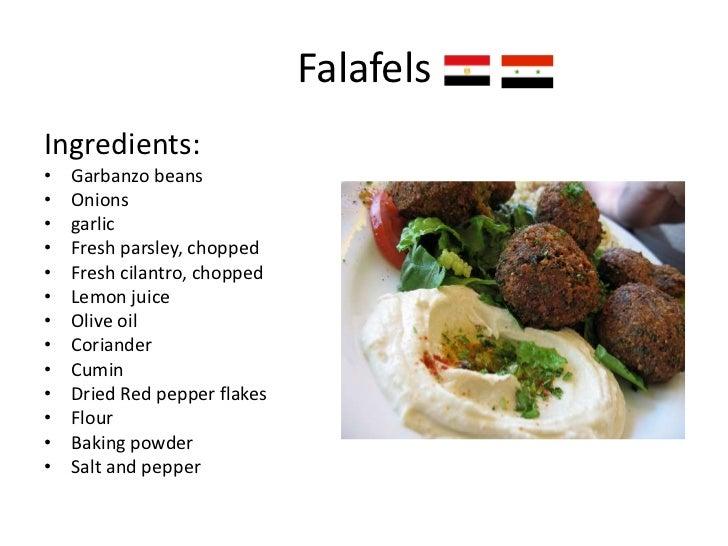 Arabic Cuisine Names Of Arabic