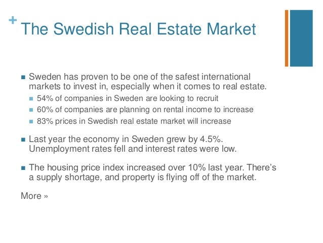 Invest in sweden real estate