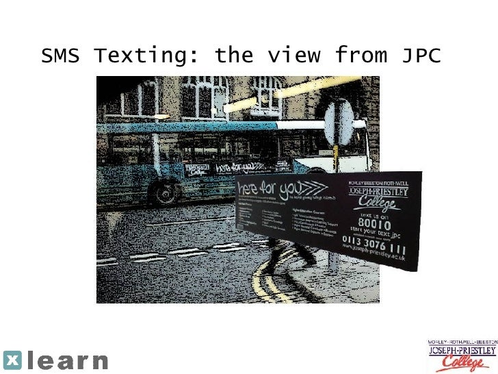 SMS Texting: the view from JPC