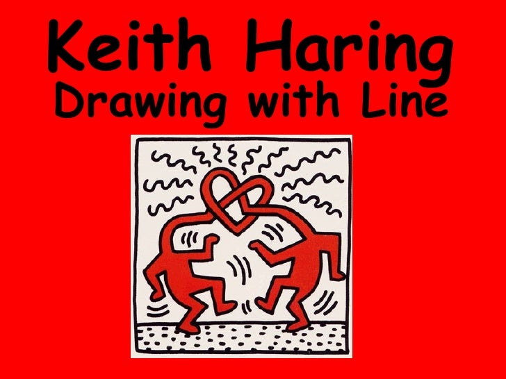 Keith Haring Drawing with Line
