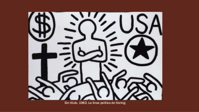 Keith Haring. Artista pop.