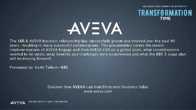 Moving To New AVEVA Technology