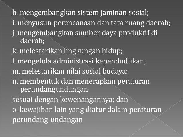 Konsep Pembagian Kekuasaan Negara di Indonesia