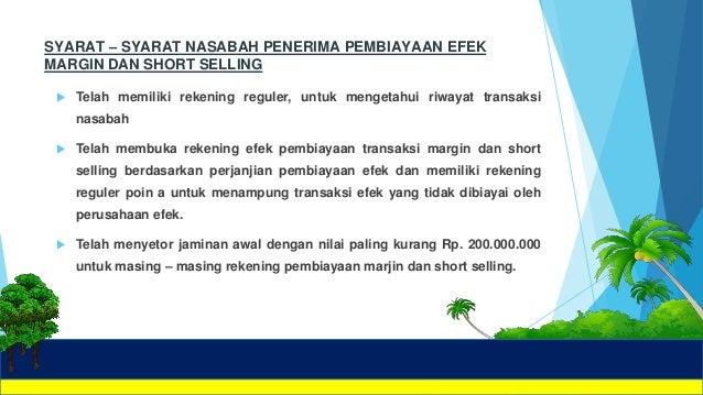 Perlindungan Hukum dalam Transaksi Margin Trading dan Short Sales di Pasar Modal
