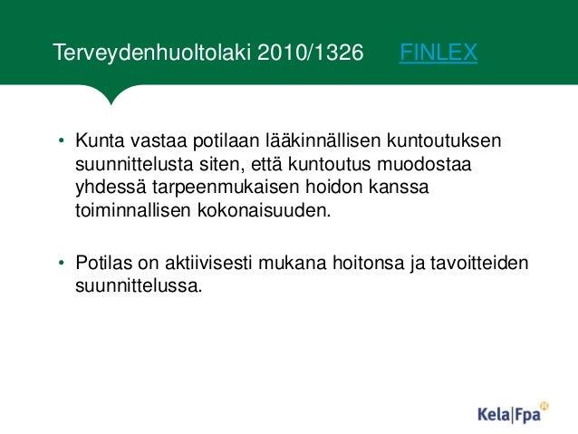 Finlex Terveydenhuoltolaki
