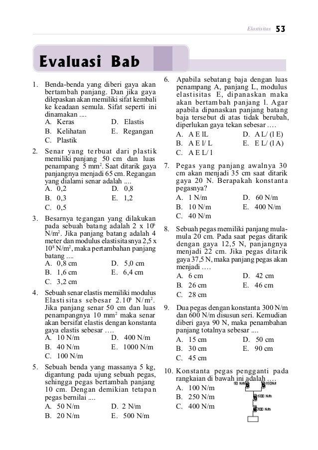 Kunci Jawaban Uji Kompetensi Bab 9 Fisika Kelas 11 Guru Galeri