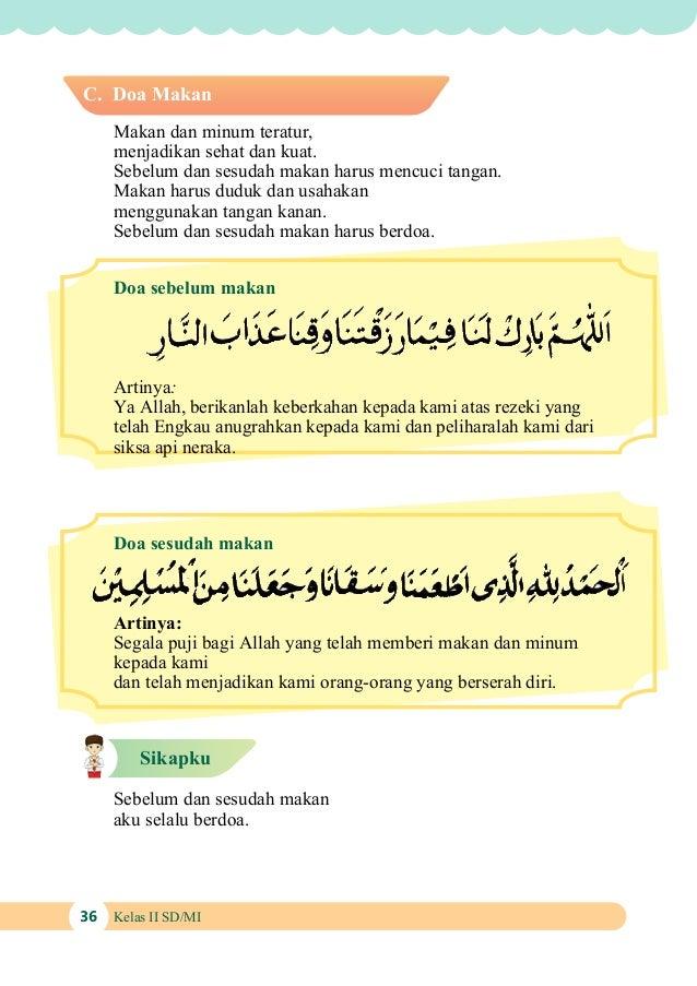 Doa Sebelum Makan Islami Gambar Islami