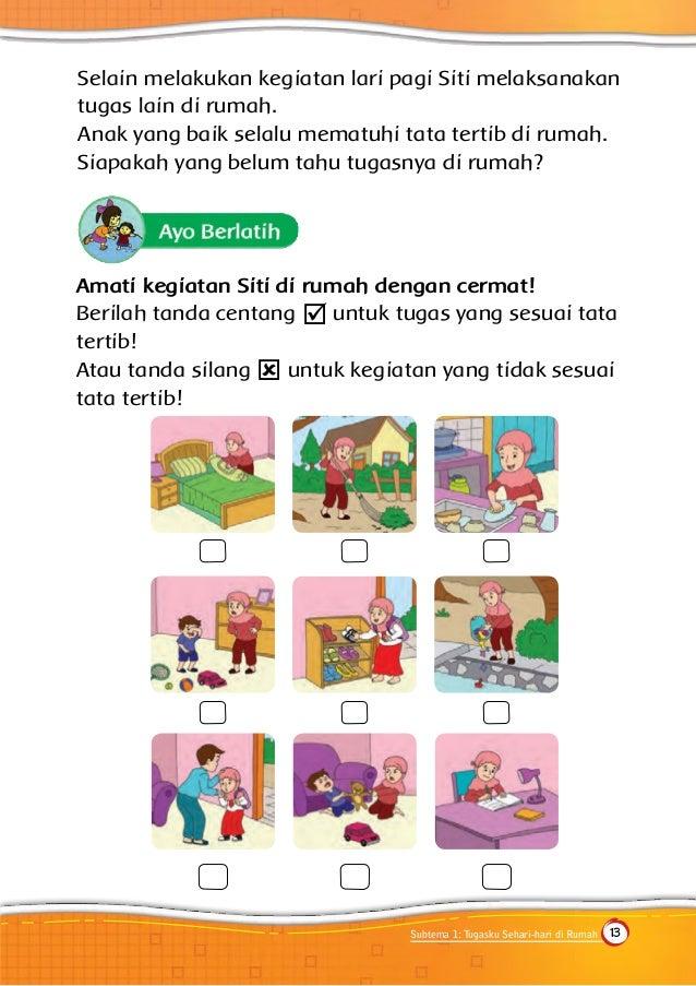 Gambar Rumah Tugas Anak Sd Guru Ilmu Sosial