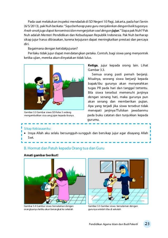 Kelas 05 Sd Pendidikan Agama Islam Dan Budi Pekerti Siswa