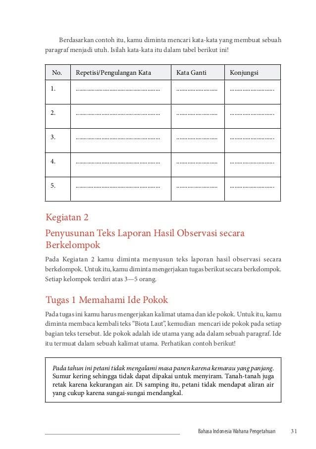 Buku Siswa Kurikulum 2013 Kelas 7 Smp Bahasa Indonesia