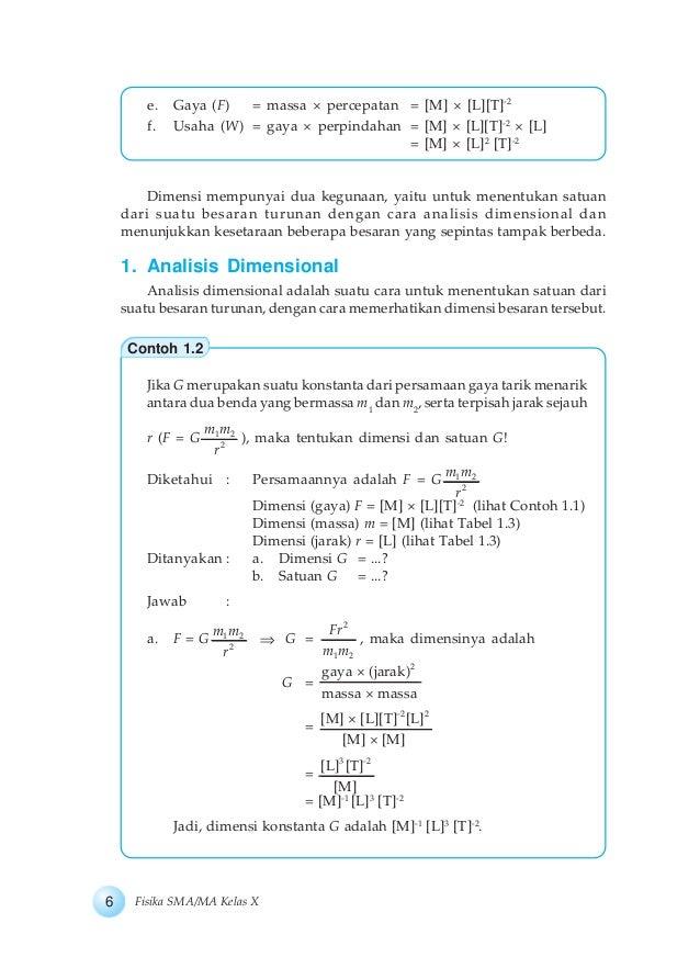 Kelas 10 Fisika