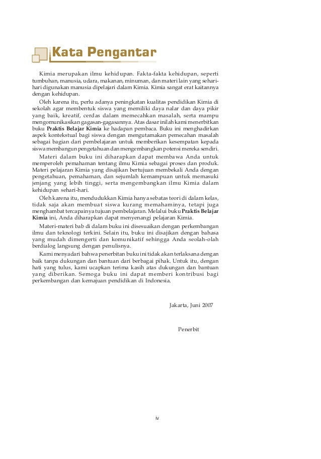 Contoh Kata Pengantar Buku Pelajaran - Contoh Soal2