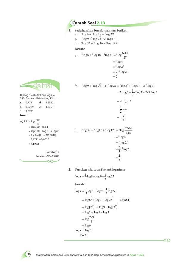 Kelas10 sma matematika