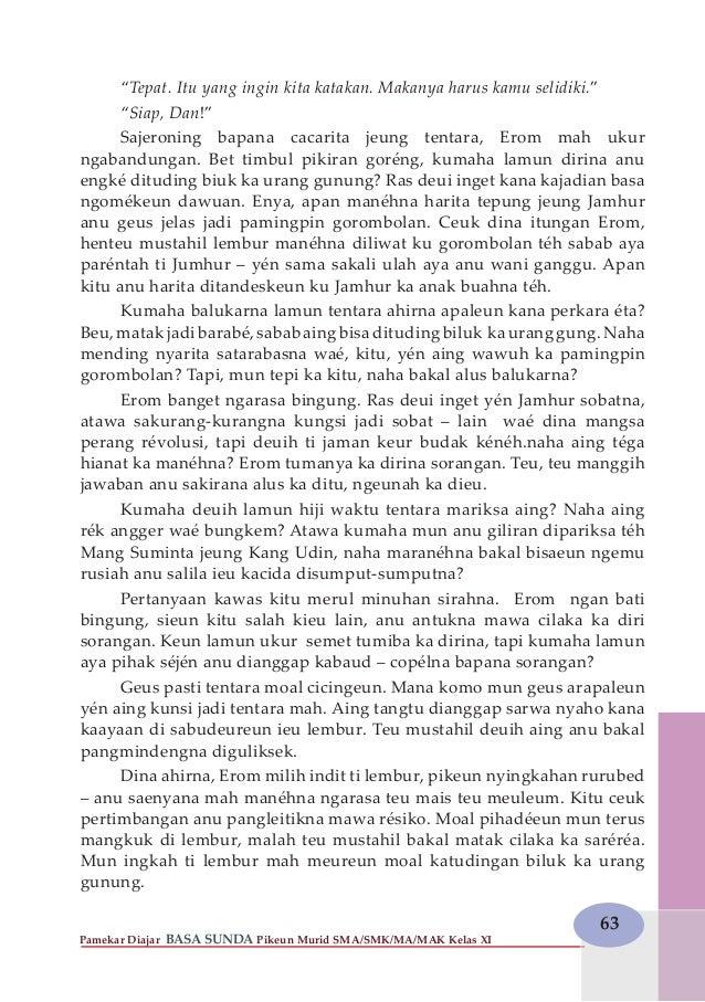 Bahasa Sunda Kelas 11
