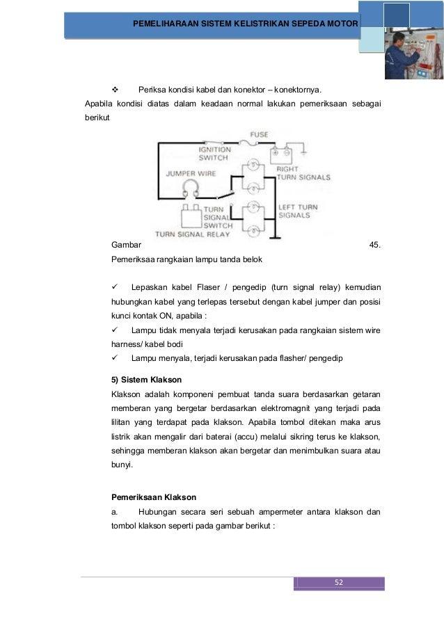 Cara Memeriksa Lampu Dan Wiring Schematic Diagram