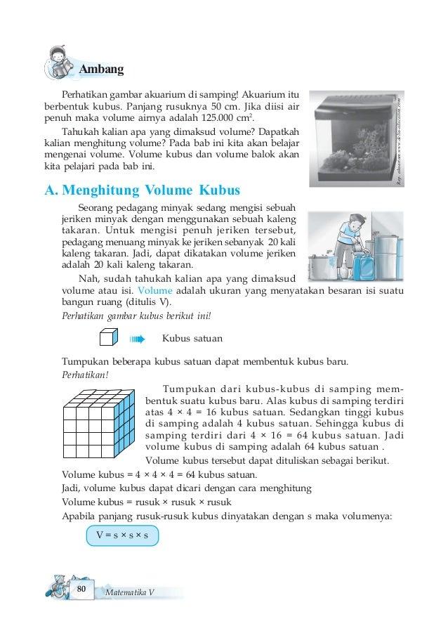 Matematika Untuk SD/MI Kelas V