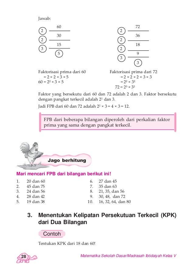 Pandai Berhitung Matematika Untuk Sekolah Dasar/Madrasah ...