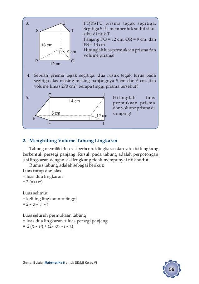 Kunci Jawaban Buku Gemar Matematika Kelas 6 Hal 66 Guru Galeri
