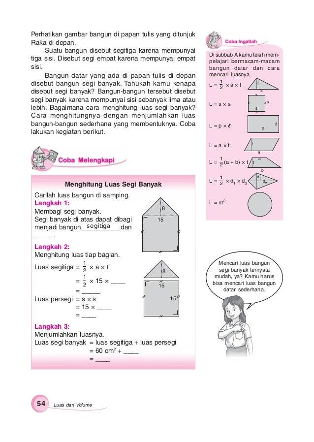 Kunci Jawaban Gemar Matematika Kelas 6 Hal 61 Guru Galeri