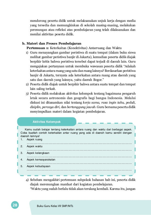 Buku Guru Ips Kelas 7 Smp