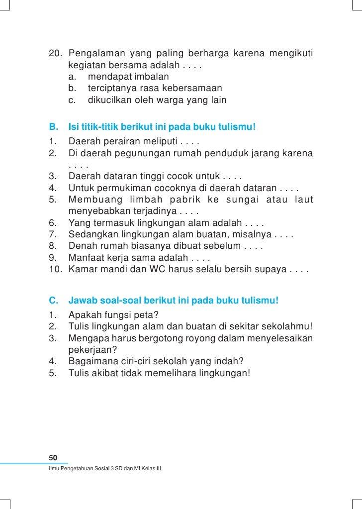 Soal Ips Kelas 1 Sd Denah Rumah Kelas Iii Sd Ips M Saleh Muhammad Januari 2013 Kumpulan Contoh