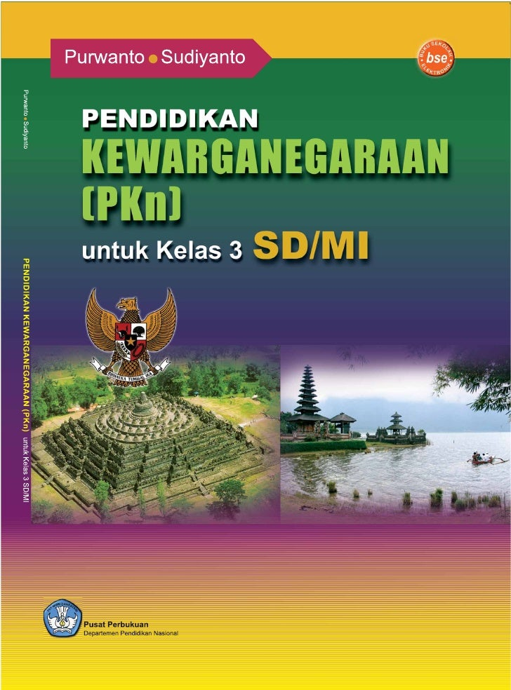 372.8 PUR     PURWANTO  P           Pendidikan kewarganegaraan (PKn) : untuk kelas III SD/MI/ Purwanto,           Sudiyant...
